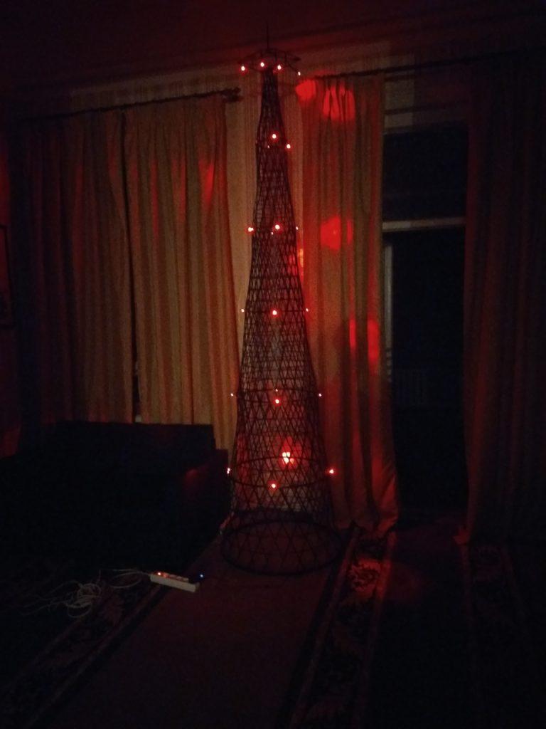 Модель шаболовской башни Романа Королева